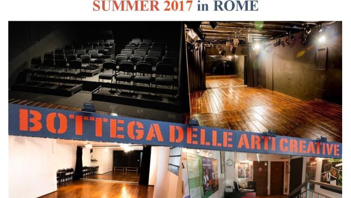 SUMMER RESIDENCY 17 IN ROME